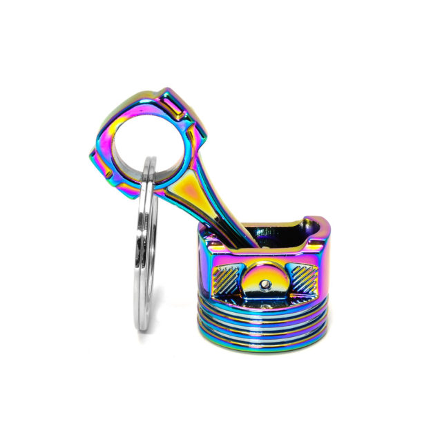 Big Piston Neochrome Jdm Tuner Keychain