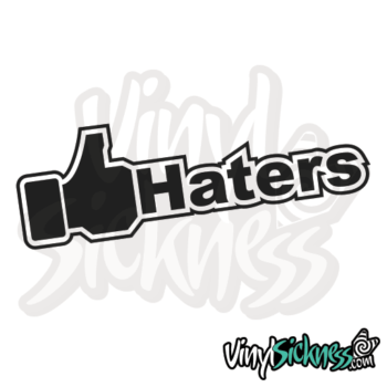 Like Haters Jdm Sticker / Decal
