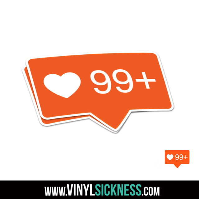 99 Plus Likes Jdm Sticker Decal